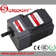 Greensky 400W 90mm BLDC brushless dc 12v dc motor with gear reduction