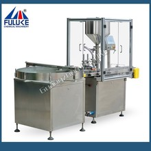 FLK automatic sustainless steel spray paint filling machine applied in cosmetic and food products