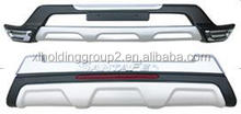 REAR BUMPER GUARD(UNIVERSAL) WITH LIGHT for HYUN IX 2013 SANTF /Decorating Auto Parts