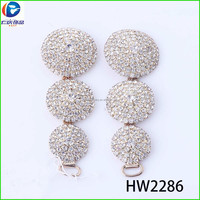 HW2286 renqing shoe collection diamante 888 stone star soft pvc shoes accessory
