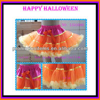 Orange patter pettiskirts,Halloween Dancing costume