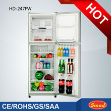 Double door frost free home refrigerators with locks
