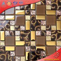 AE32 Handmade Crackled Glazed Tile Fish Mosaic Patterns Design Of Wall Tiles
