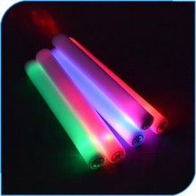 2015 New Products Wedding Party Favor Flashing Led Foam Cheering stick