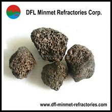 Natural Pumice Stone black/brown type