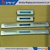 Light illuminated LED Door Sill Protector Panel Scuff Plate for Ford Escape Ku-ga 2013