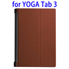 Top Selling Smart Leather Tablet Case for Lenovo YOGA Tab 3 with Sleep / Wake-up Function