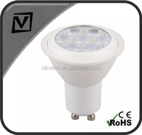 RCC dimmable driver, 7W GU10 LED spotlight, 7W dimmable GU10 LED Bulb
