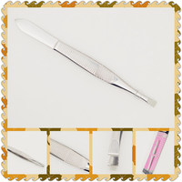 Nice package best quality eyelash extension tweezers for wholesales