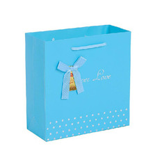Rope Handle Plain Color Wholesa Cheap Gift Bags