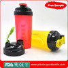 600ML Colorful Joyshaker Cup BPA free Protein Shaker Cup With Shaker Ball