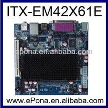 Cheap Intel ATOM D425 based Mini ITX motherboard ITX-EM42X61E