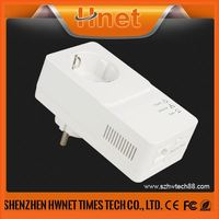 2014 600mbps pass through network powerline adapter mini powerline ethernet adapter with Qualcomm QCA7450