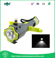 multi-function car safety emergency life hammer with hand torch light