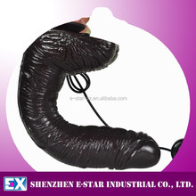 Factory Wholesale artificial realistic vibrating dildo for women / Fake penis