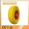 8 inch flat free pu foam tires