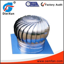 Stainless steel industrial roof exhaust fan