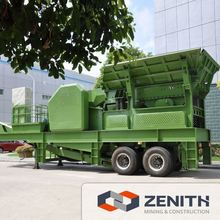 Zenith mobile stone crushing engineering mechanism with CE