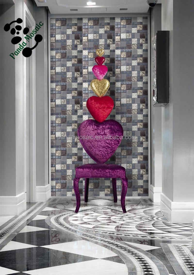 smp19 casa moderna mosaico piani di progettazione interno pannelli ...
