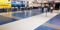 China wholesales sports pvc flooring waterstone design vinyl tile/pvc plank/plastic flooring