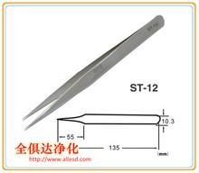 ST-12 Long Light Stainless Steel Precision Tweezer