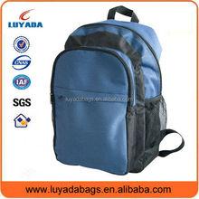 Durable bicolor PVC sport 600D backpack bag/sport bag with many pockets