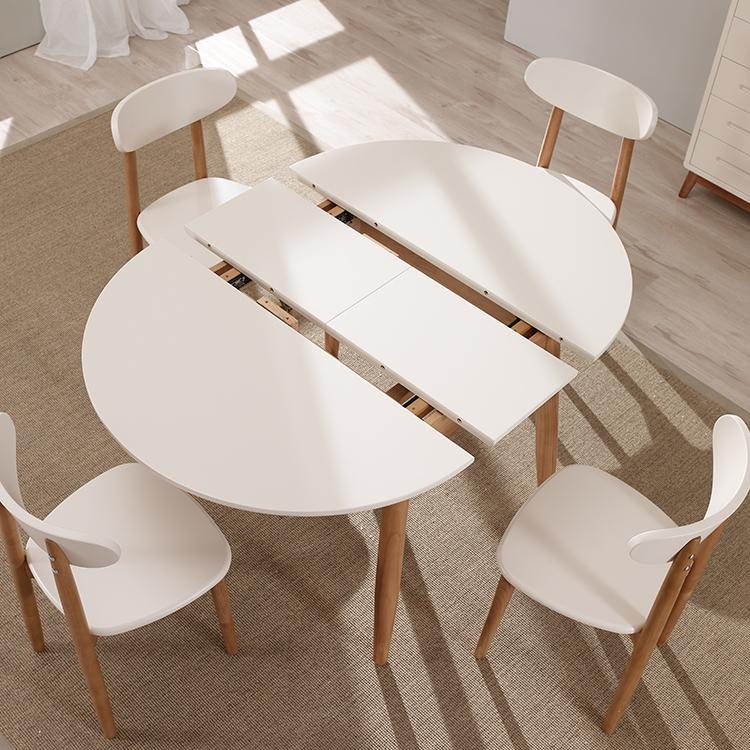 Expansion table manger meubles petite table ronde for Petite table pliante en bois