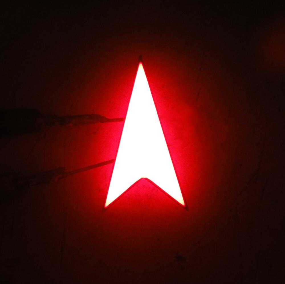 LED arrow traffic light indicator signal red single led arrow led display red