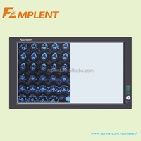 LED x ray film viewer with film sensor and high brightness