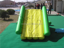 HI CE custom inflatable water floating toys, water game toys for adults