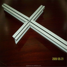 alloy lock slotted T grid ceiling