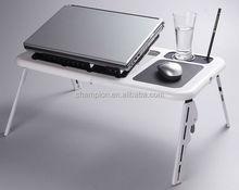 plastic portable lap top stand