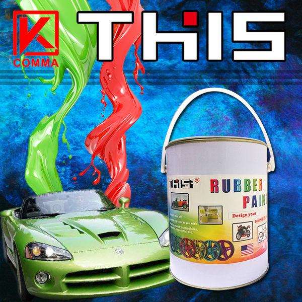 Liquid Rubber Paint For Cars Rubber Coating Car Paint