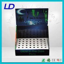 green dot corrugated cardboard counter displays ,custom made sunglass counter display stand