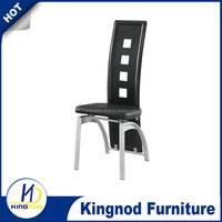 Dubai dining chairs pvc covered dine chair, modern Dining Chairs