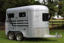 angle load 2 horse trailers, slant load 2 horse trailers