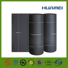 NBR/PVC flexible closed cell rubber thermal insulation sheet sponge