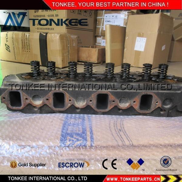 S4KT cylinder head assy for CAT E120B (4).jpg