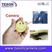 Mini 720p cara de la sonrisa de la cámara te-609