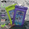 2015 factory new design waterproof phone bag for iphone5 with ipx8 certificate