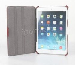 High quality protective leather case for iPad Mini 4 leather case