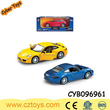 Promotional Toy 1:28 Scale Pull Back diecast metal rc model car Toy With Light