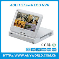 10inch lcd screen nvr recorder with hdmi input