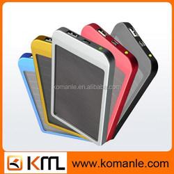 Promotional portable 2600mah usb power bank mini solar charger