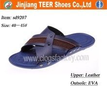 cheap name brand slippers men's indoor shoes wholesale in china