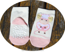 Taiwan custom seamless high quility slipper baby sock