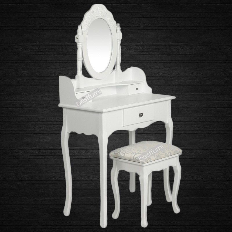 Exceptionnel Elegant Dressing Table With 3 Drawers ...