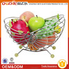 2015 New Fashion Design Chrome Fruit Basket