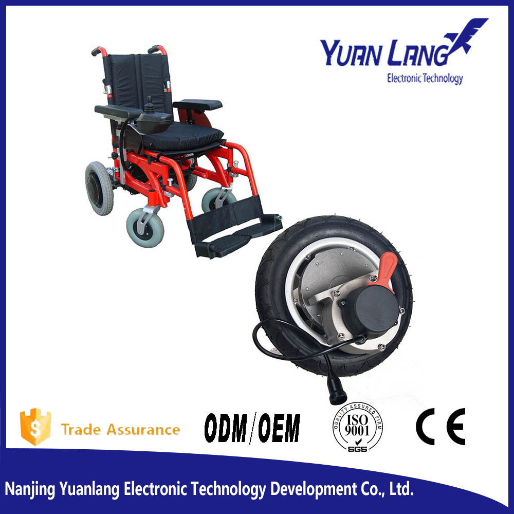 Brushless Electric Wheelchair Motor With Black Tyre Buy