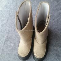 Russian style wool felt winter boots